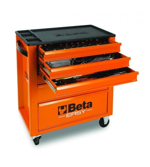 Servante d'atelier avec 149 outils Beta C24E/V